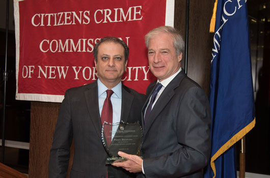 Annual Awards Ceremony: NY Crime Commission
